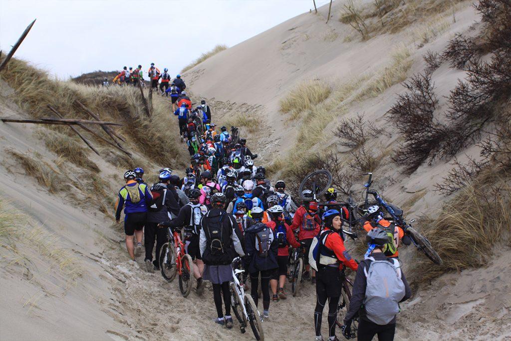 équipe du touquet raid pas de calais sur l'épreuve des dunes