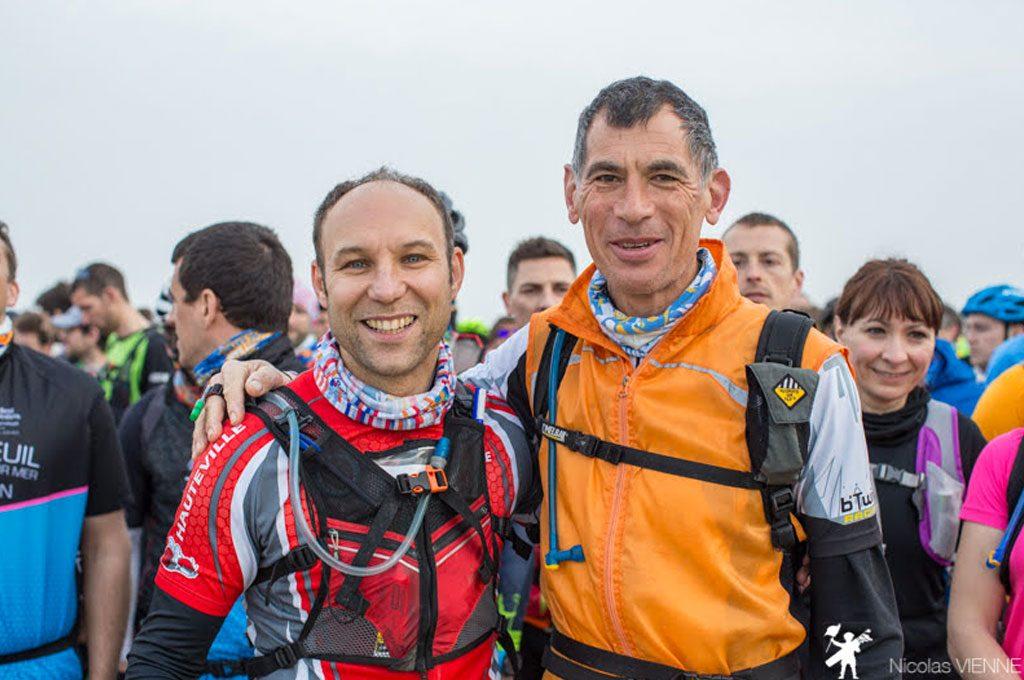 deux participants du touquet raid pas de calais