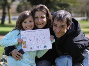 Une famille qui a participé au touquet raid pas de calais, témoignage de l'expérience de la course